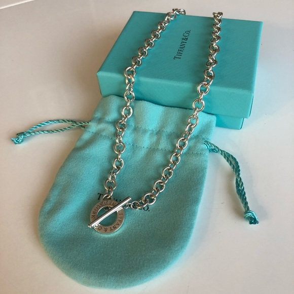 ***SOLD*** Authentic Tiffany Toggle necklace